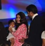 Aishwarya Rai Bachchan and Abhishek Bachchan with Daughter Aaradhya