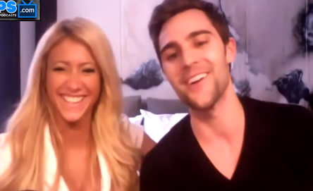 Big Brother 15 houseguests GinaMarie Zimmerman and Nick Uhas (Photo