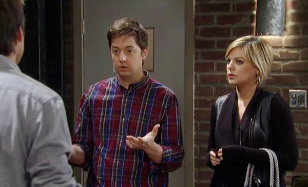 Spinelli and Maxie Fighting for Baby Connie on General Hospital