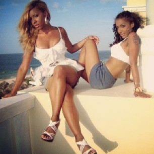 Amina Buddafly and sister Jazz Buddafly