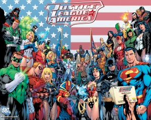 Members of The Justice League