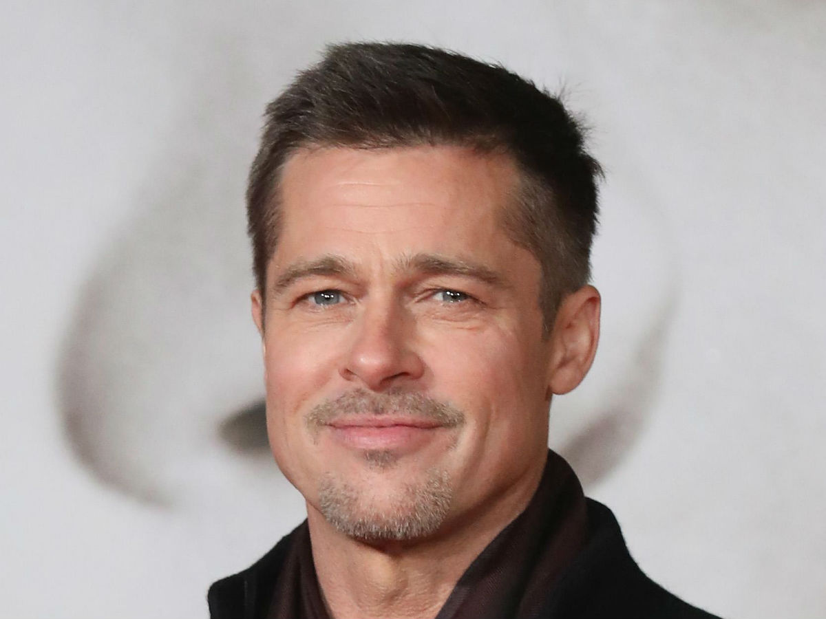 Brad Pitt and rumoured new girlfriend pose for photo