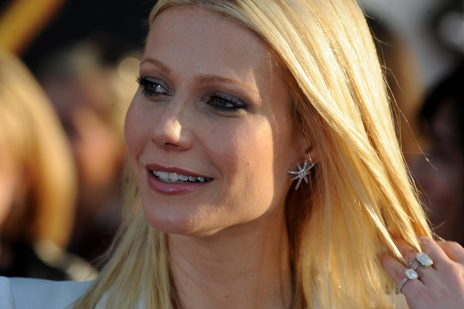Gwyneth Paltrow feels lucky to be engaged