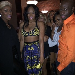 Nene Leakes, Marlo Hampton and Friend