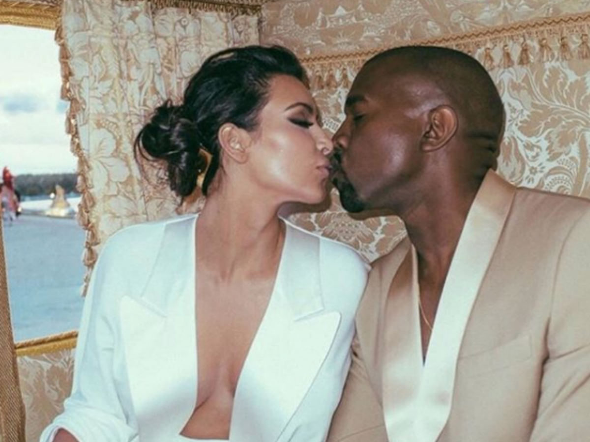 Kim Kardashian Shares Video of Her & Kanye West Making Out