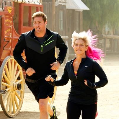 Marie and Tim on The Amazing Race Season 23