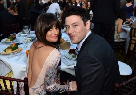 Lea Michele and Cory Monteith at the 2012 Chrysalis Butterfly Ball