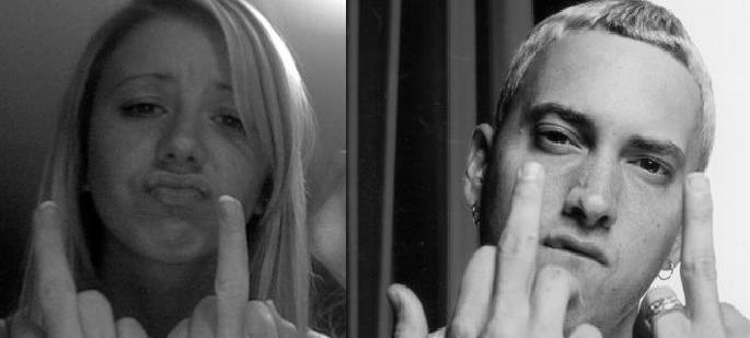 Eminem a Hailie