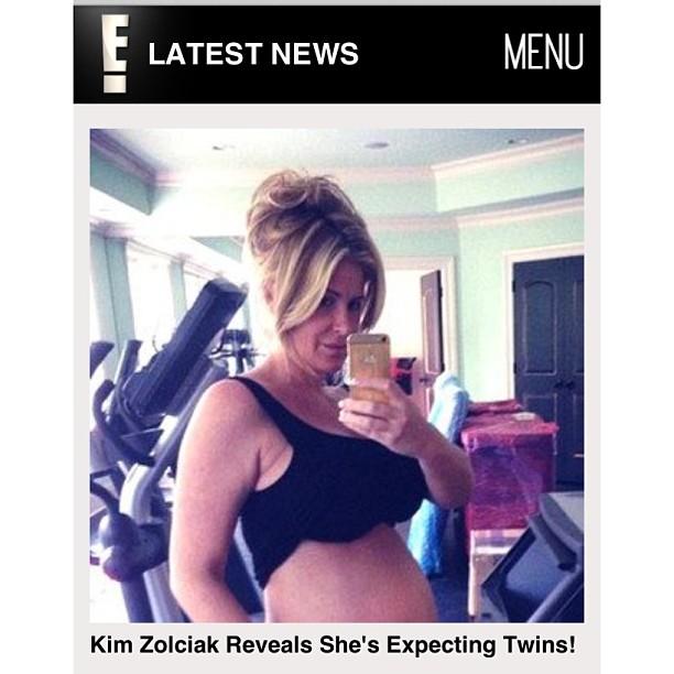 Kim Zolciak Twins Due Date Kim zolciak