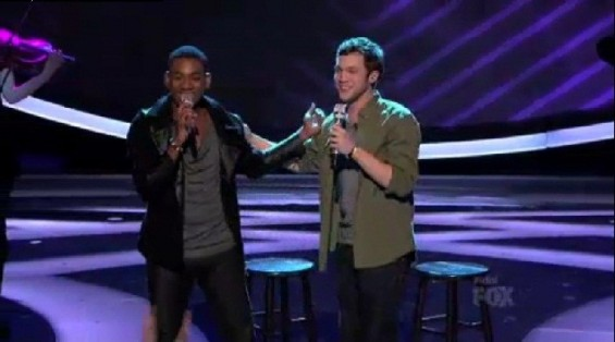 Joshua Ledet and Philip Phillips