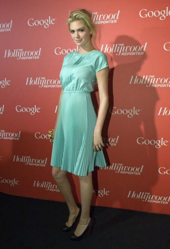 Google and the Hollywood Reporter Party