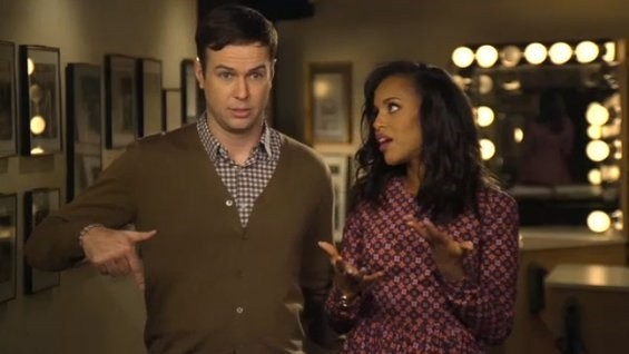kerry-washington-and-taran-killam-in-a-promo-video-for-snl