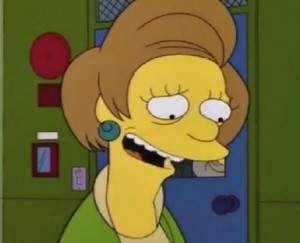 Edna Krabapell/Maria Wallace/The Simpsons