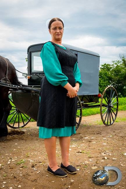 Esther Schmucker, One of the stars of Discovery's 'Amish Mafia'