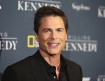 "Actor Rob Lowe, cast member of the National Geographic Channel drama program ""Killing Kennedy"" who portrays John F. Kennedy, attends the film's premiere in Los Angeles November 4, 2013."