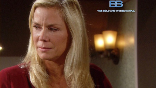 A Heart-broken Brooke is forced to cope when Bill dumps her on 'The Bold and the Beautiful'