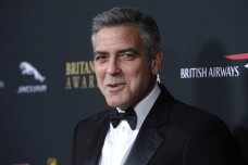 Actor George Clooney attends the BAFTA Los Angeles Britannia Awards in Beverly Hills, California November 9, 2013.
