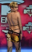 Miley Cyrus at the 2013 EMAs