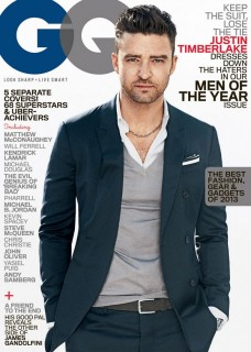 Justin Timberlake GQ Men of the Year issue