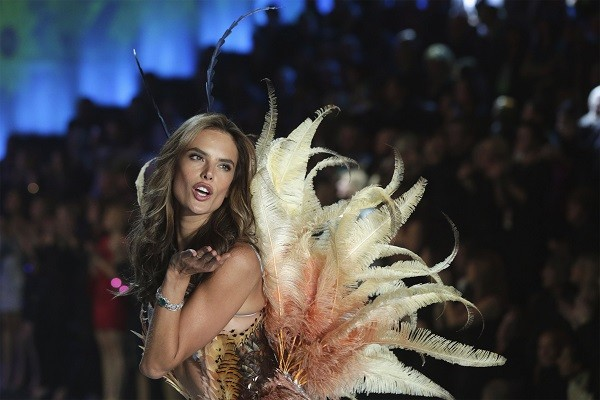 Alessandra Ambrosio at the 2013 Victoria's Secret Fashion Show