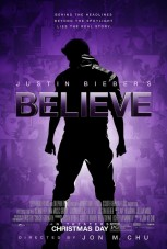 Justin Bieber 'Believe' movie poster