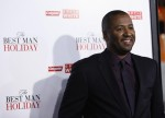 "Director of the movie Malcolm D. Lee poses at the premiere of ""The Best Man Holiday"" in Hollywood, California November 5, 2013. The movie opens in the U.S. on November 15."