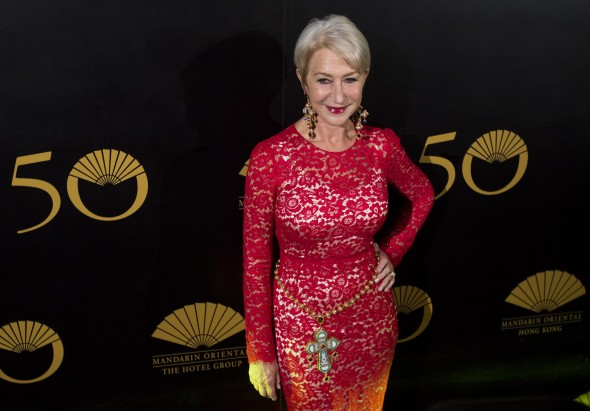 british-actress-helen-mirren-poses-on-the-red-carpet-as-she-arrives-at-an-event-celebrating-the-50th-anniversary-of-the-mandarin-oriental-hotel-in-hong-kong-october-17-2013