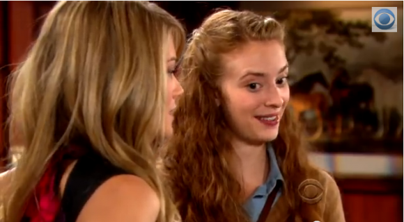 Hope and Alley on 'The Bold and the Beautiful'