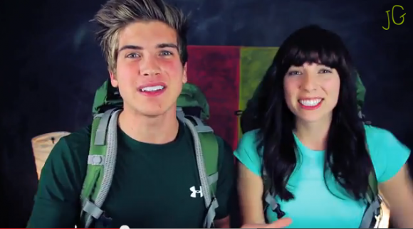 Joey and Meghan Announcing Their Participation in season 22 of 'The Amazing Race.' The Team is also slated to appear in Season 24