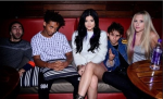 Jaden Smith, Kylie Jenner and friends