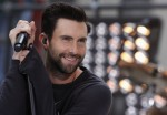 Singer Adam Levine performs with his band Maroon 5 in New York in this file photo taken June 14, 2013.