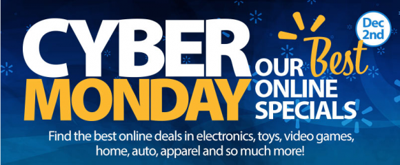 Wal-Mart Cyber Monday 2013