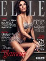 Eva Longoria on the Cover of Elle Spain December 2013