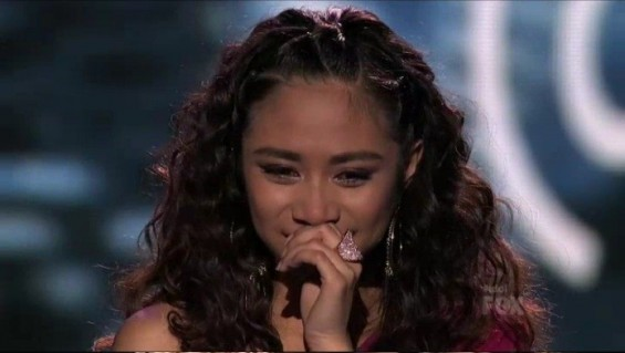 Jessica Sanchez (Credit: American Idol Video Still)