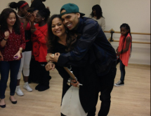 Chris Brown and Mom, Joyce Hawkins