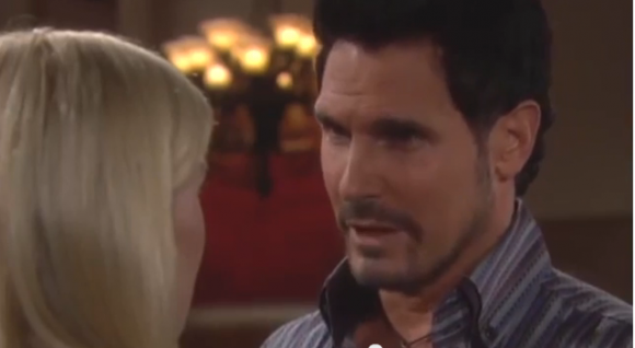 Bill convincing Brooke to take him back on 'The bold and beautiful'