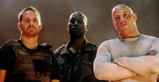 Paul Walker, Tyrese Gibson and Vin Diesel/Fast and Furious 7