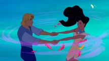 A scene from 'Pocahontas'