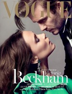 Vogue Paris Cover -- Victoria and David Beckham