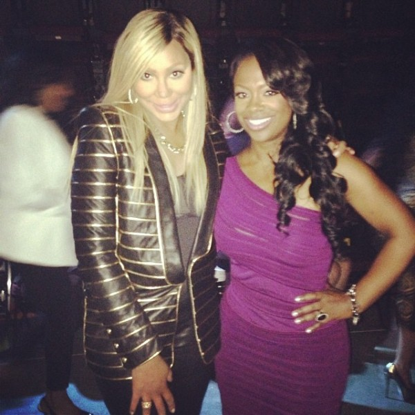 Tamar Braxton and Kandi Burruss
