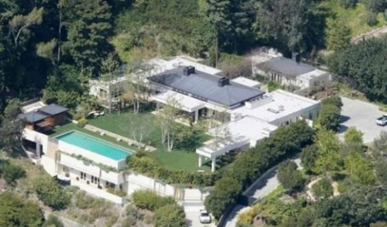 Ellen DeGeneres mansion.