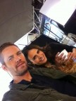 Paul Walker and Fast and Furious costar Jordana Brewster