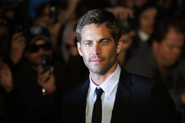 """Actor Paul Walker arrives for the British premiere of """"Fast & Furious"""" in Leicester Square in London March 19, 2009."""