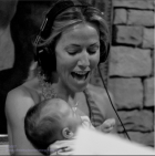 Sheryl Crow singing to then baby son Wyatt in 2007