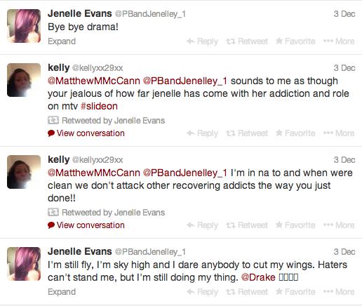 Twitter/Jenelle Evans