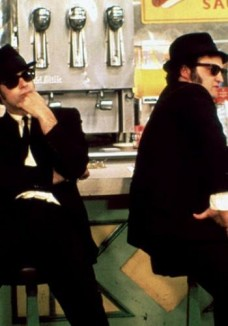 A scene from 'The Blues Brothers,' a 1980 film starring John Belushi and Dan Akyroyd
