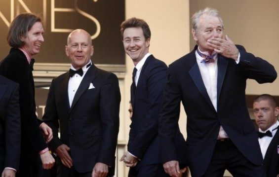 Bruce Willis, Edward Norton, Bill Murray