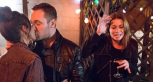 Carla catches Rob and Tina kissing on 'Coronation Street'