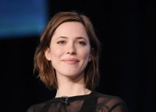 "British actress Rebecca Hall takes part in a panel discussion of HBO's ""Parade's End"" during the 2013 Winter Press Tour for the Television Critics Association in Pasadena, California, January 4, 2013."