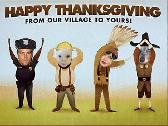 fergie-josh-duhamel-thanksgiving-greetings-2013